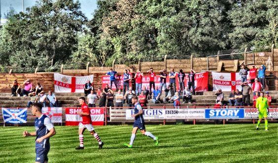 Workington v Shildon (3-1) 17/9/16 FA Cup 2nd Qualifying Round Brough Park Workington Admission £11 Badge £3 Att 563. Via Ian Kelsey