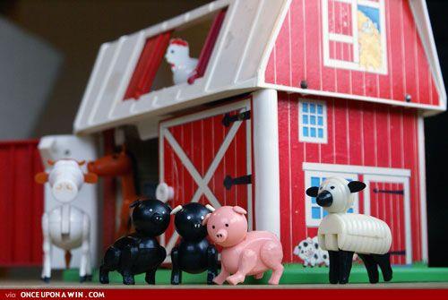 memories -Little People Farm - I loved the door sound.
