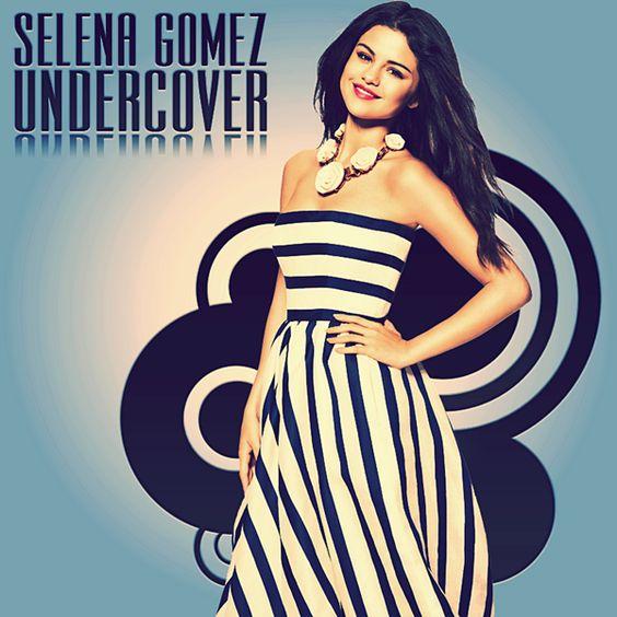 Selena Gomez – Undercover (single cover art)