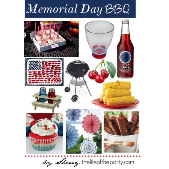 Memorial Day, created by thelifeoftheparty on Polyvore