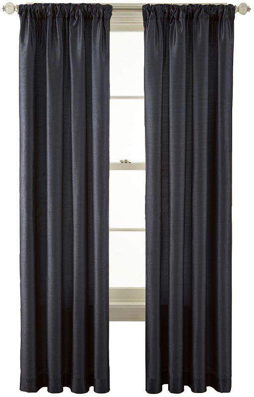 Royal Velvet Encore Rod Pocket Back Tab Curtain Panel Tab Curtains Panel Curtains Curtains