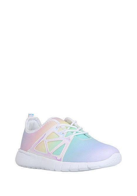 Tesco direct: F\u0026F Rainbow Ombre Lace-Up