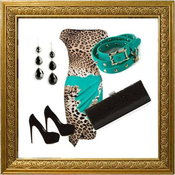 """Animal Chic"" by jazlin2002 on Polyvore"
