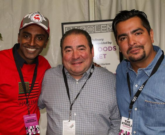 #HarlemEatUp with my buddies @marcuscooks and @chef_aaronsanchez #HEU2016 by emeril