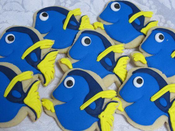 Under the Sea Sugar Cookies Ocean Theme Clownfish by MartaIngros