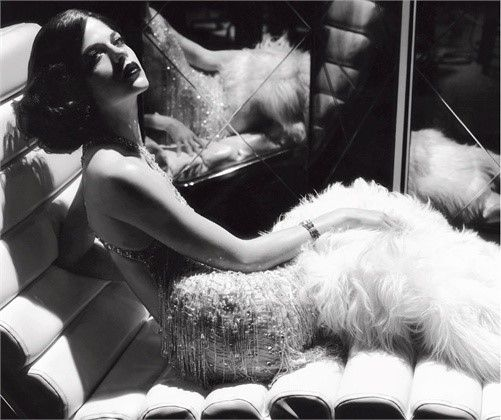 #vintage photo by Steven Meisel for Vogue Italia, 2007