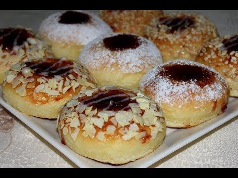 بريوش العجينة السحرية بالكونفتير خفيف و لذيذ بتزيين راقي و مختلف Youtube Food Desserts Doughnut
