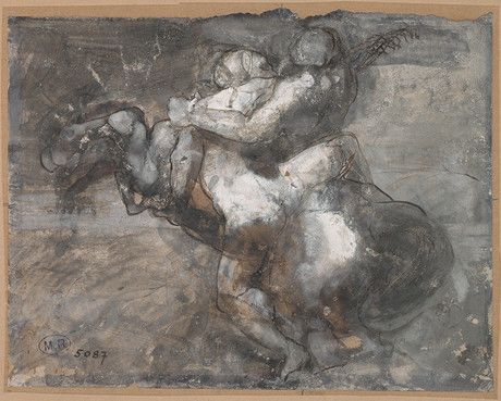 Force and ruse, Rodin: Drawings Auguste, Ruse Auguste, 1917 Force, Ruse Rodin, Collections Drawings, Auguste Rodin, Drawings Force, 1840 1917 Auguste, 1880 Pen