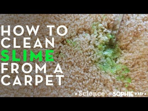 How To Get Slime Off Clothes Carpet Sofa Hair Stain Remover Carpet Slime Cleaning Hacks