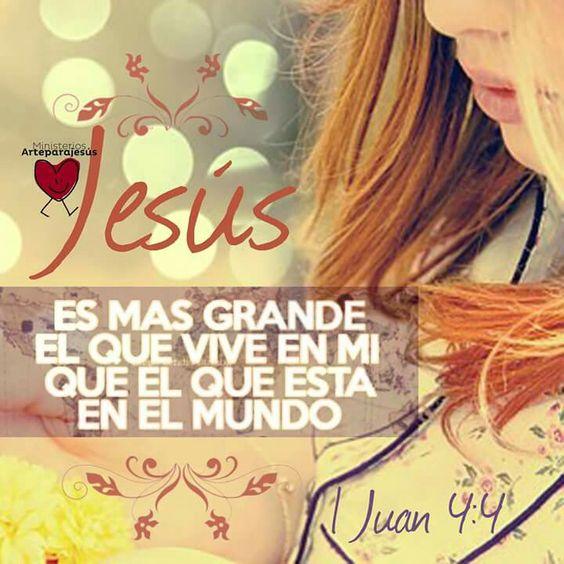 Grande es Jesús.