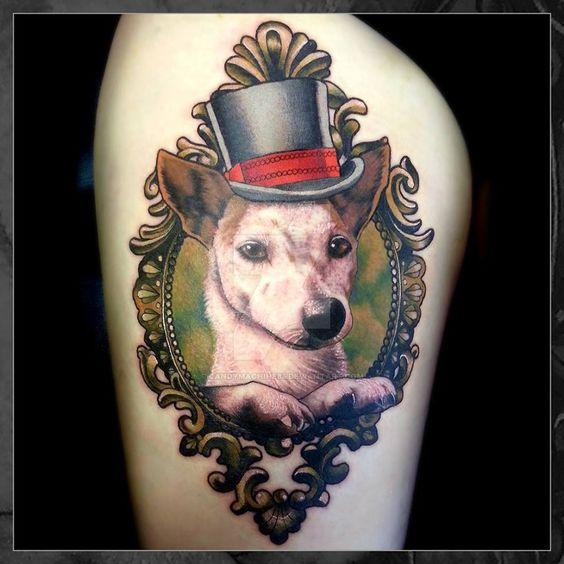 Charlie Dog Portrait by CandyMachine85.deviantart.com on @DeviantArt