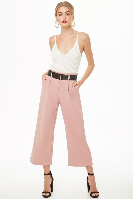 work clothes women professional workwear, pink wide leg work pants, work clothes women affordable