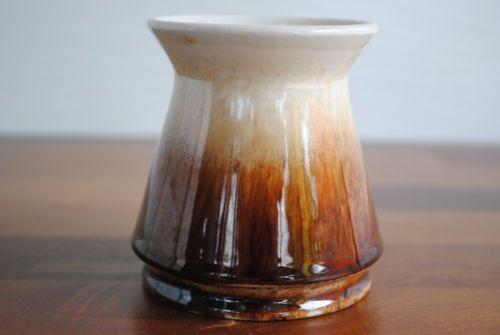 9cm 8cm 4 OF 13 Vintage Newtone Pottery Vase Faun TO Brown Drip Glaze 388 Excellent | eBay