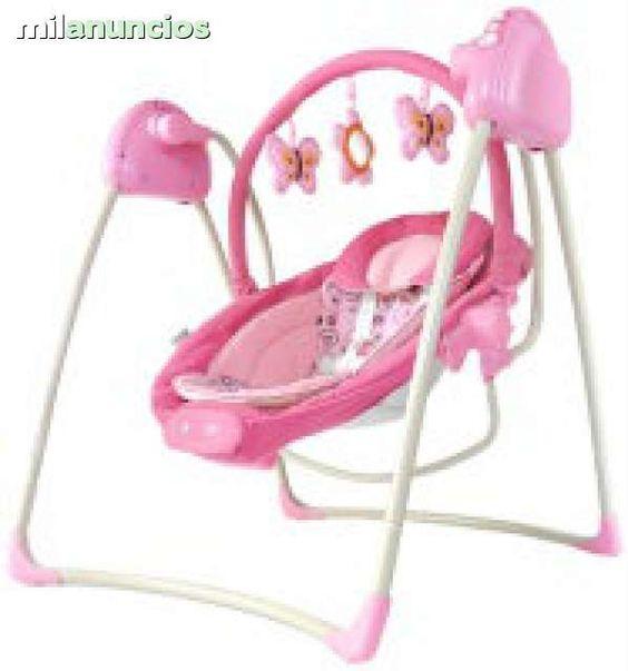. Descripci�n columpio-hamaca dulces sue�os en roalba baby  hamaca ligera muy pr�ctica y segura para mantener distra�do y tranquilo al beb�- - asiento con 2 posiciones  - cinturones de seguridad de 5 puntos  - 3 modos de vibraci�n para mantener calmado