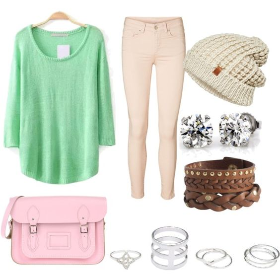 Mint pink