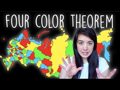 Four Color Theorem Theorems Graphing Planar Graph