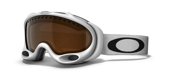 Oakley - White A Frame/Black Iridium