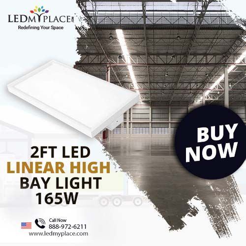 Reduce Your Energy Bill By Installing 2ft Led Linear High Bay Light High Bay Lighting Bay Lights Led