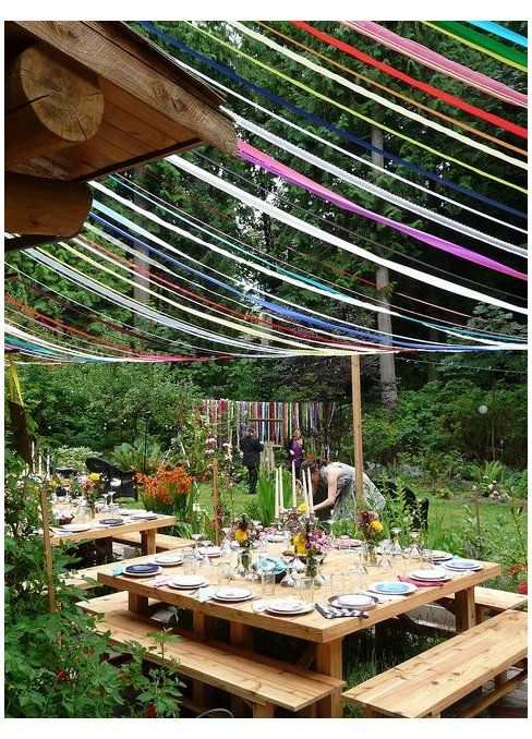 Seattle Halloween Party 2020 Seattle Farm Tables   the original party, plus a Ribbon Canopy