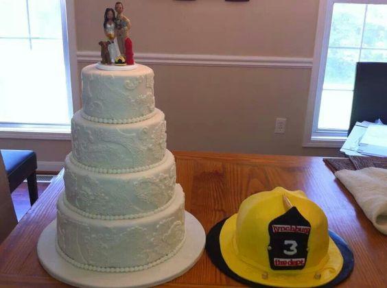 Wedding & Groom's Cakes by Jessyca Reynolds Custom Cakes