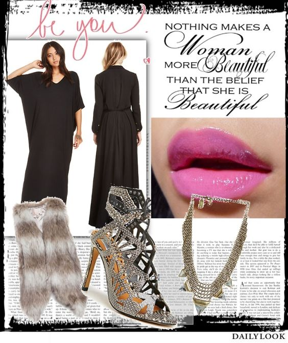 You Are Beautiful - http://stylesets.dailylook.com/sets/182507 - Club/Party