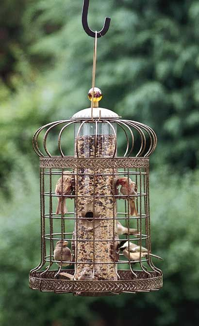 Love this feeder.  Squirrel-proof?