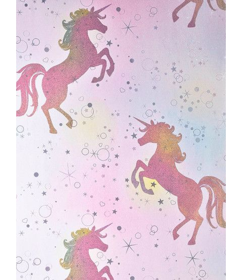 Glittery Unicorn Made By Me Purple Sparkly Wallpapers