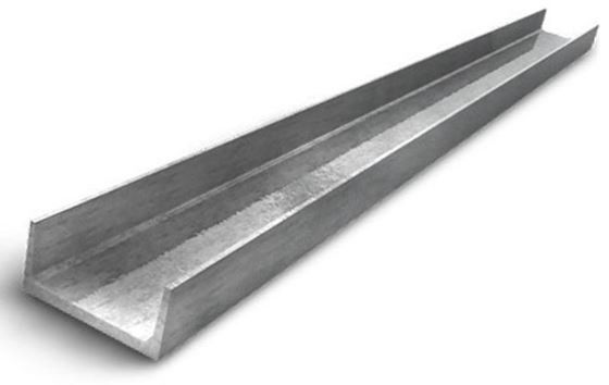 Stainless Steel Channels Sizes