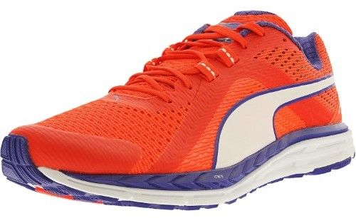 Puma Women's Speed 500 Ignite Red Blast/Royal Blue/White Ankle-High Running