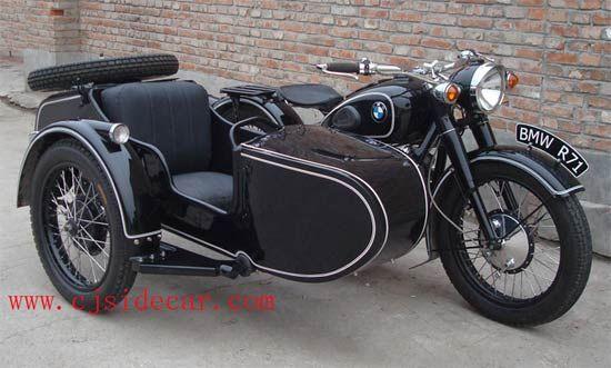 globe gs200 on a bmw r60/2 | sideside | pinterest | sidecar