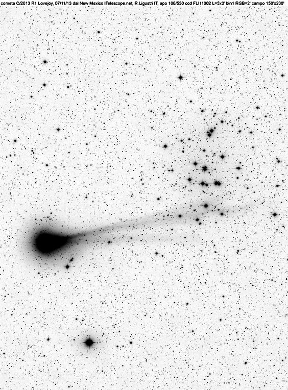la cometa Loveloj
