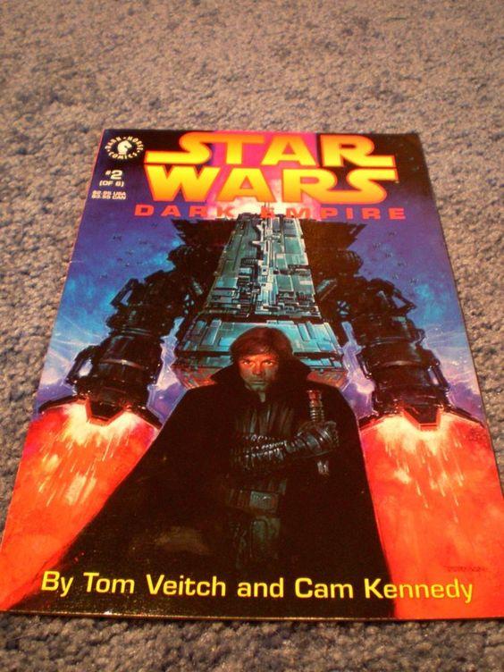 Star Wars Dark Empire #2 of 6 1992 comic very fine