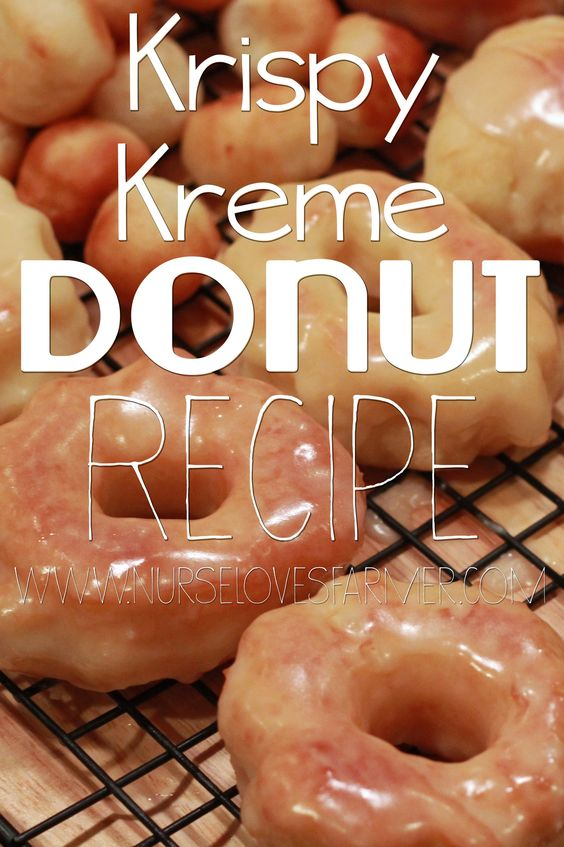 Krispy Kreme Donut Copycat Recipe. Make delicious Krispy Kreme donuts from the comfort of your own home! Best served hot and glazed!
