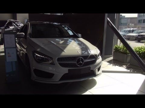 http://hirudov.com presents the Mercedes CLA 220 CDI car seen outside and inside in full 3D HD. The car is with Diesel engine, 2143 cm3, 125 kW (170 HP). The color is Cirrus White. It has 7G-Tronic automatic gear shift, 0-100 km/h acceleration for 8.2 seconds. Fuel economy is B class.    Video recorded with Sony Handycam HDR-TD30VE digital camcord...
