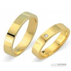 #Trauringe #Eheringe Gold Gelbgold - CERA3530