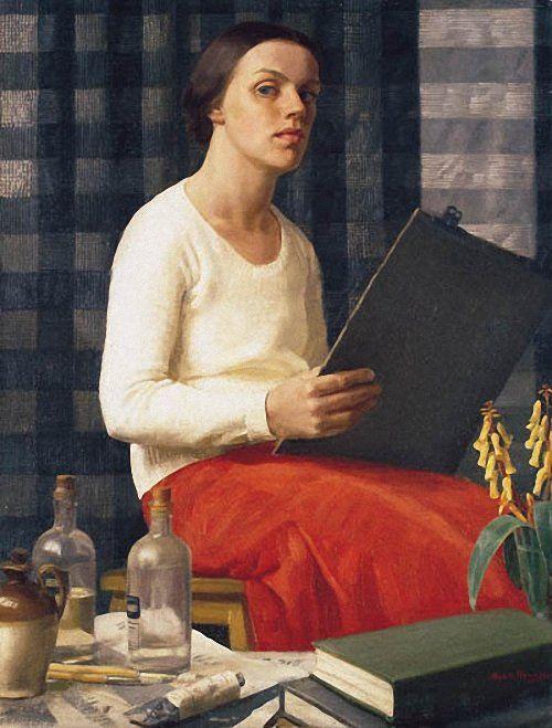 Nora Heysen A Portrait Study (Self Portrait). 1933 г.