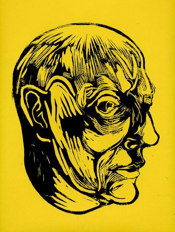 The Man by Moorgate Tube