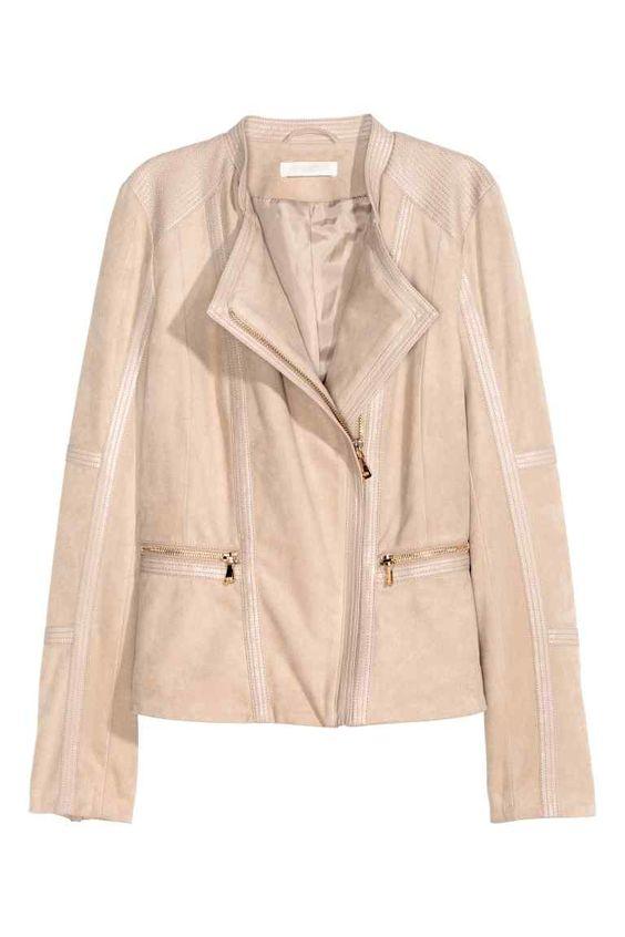 Jachetă din imitație de velur | H&M