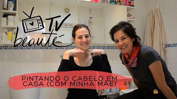 Pintando o cabelo em casa (com minha mãe!) - TV Beauté | Vic Ceridono
