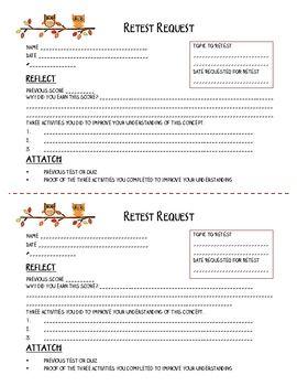 Retest Request Form