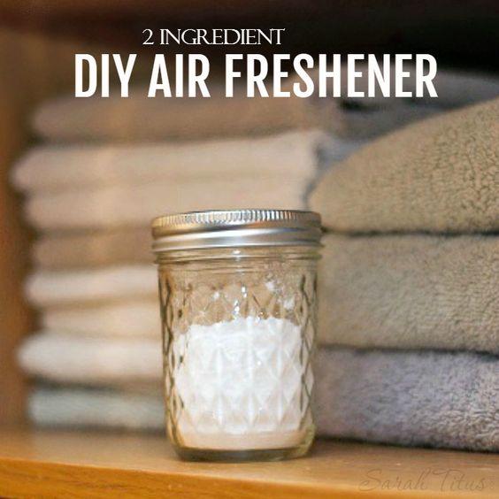 Diy air freshener recipe diy air fresheners air for Baking soda air freshener recipe