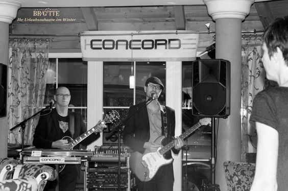 Concord - Live im Hotel Brigitte****S am 18.12.2014  DANKE an alle die mitgefeiert haben!  #hotelbrigitte #concord #party #ischgl #skifahren