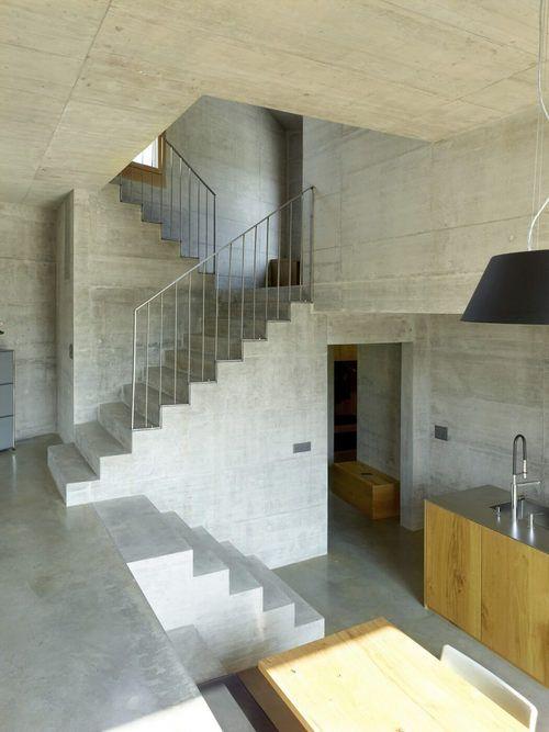 Romain Pellissier (pellissier0743) on Pinterest - maison en beton banche