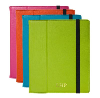 Personalized Bright Leather iPad Cases