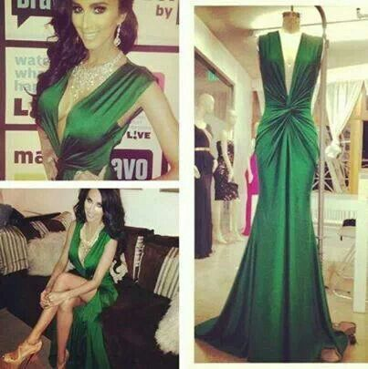 Green evening gown  Outfits &amp Trends  Pinterest  The o&39jays ...