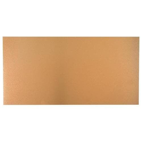 M D 24 In X 12 In Copper Sheet Metal Siding Trim Lowes Com In 2020 Metal Siding Siding Trim Copper Sheets