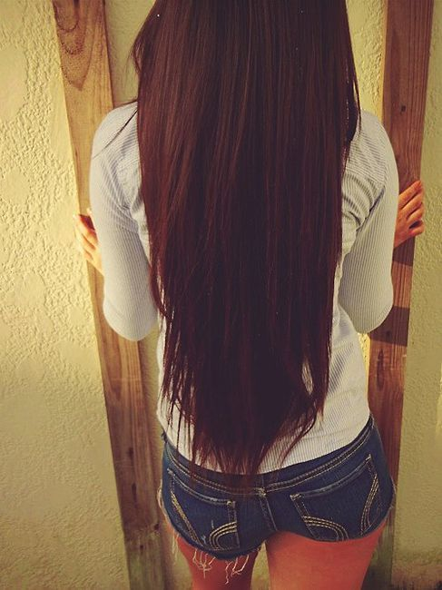 Dream length. And color. Hair.