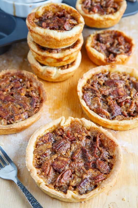 ... tarts tarts pecans bacon butter bourbon maple bacon cooking closet