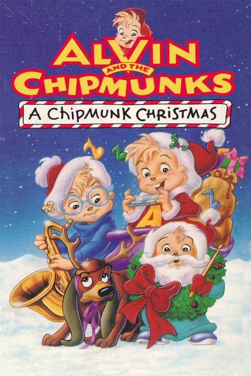 A Chipmunk Christmas Pelicula Online Completa Christmas Cartoon