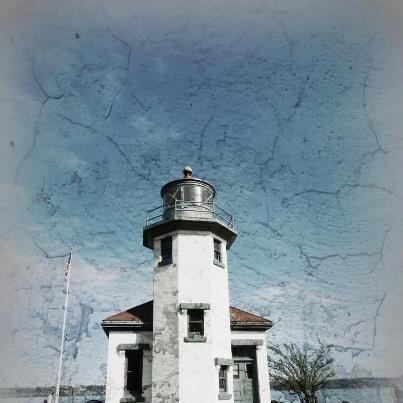 Pt. Robinson Lighthouse located on Vashon Island  Photo Credit- Carol Hughes Wells